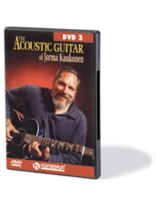Jorma Kaukonen - The Acoustic Guitar of Jorma Kaukonen - DVD Three - Music Book