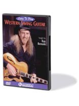 Ray Benson - Learn To Play Western Swing Guitar - Music Book
