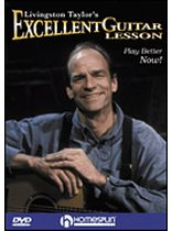 Livingston Taylor - Livingston Taylor's Excellent Guitar Lesson - Music Book