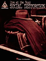 Social Distortion - Social Distortion - Live at the Roxy - Music Book