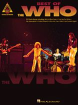 The Who - Best of the Who - Music Book