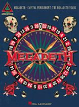 Megadeth - Megadeth - Capitol Punishment: The Megadeth Years - Music Book