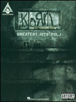 Korn - Greatest Hits Vol. 1 - Music Book