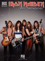 Iron Maiden - Iron Maiden Bass Anthology - Music Book