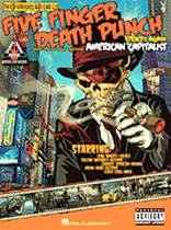 Five Finger Death Punch - Five Finger Death Punch - American Capitalist - Music Book