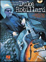 Dave Rubin - Classic Guitar Styles of Duke Robillard - Music Book