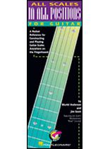 All Scales In All Positions for Guitar - Music Book