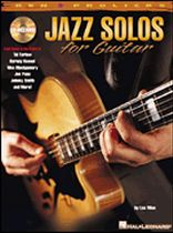 Jazz Solos for Guitar - Music Book