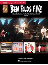 Ben Folds Five - Ben Folds Five - Keyboard Signature Licks Music Book
