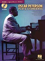 Oscar Peterson - Oscar Peterson Plays Standards - Piano Signature Licks - Music Book