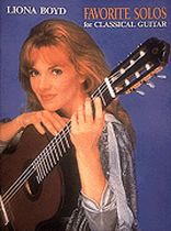 Liona Boyd - Favorite Solos for Classical Guitar - Music Book