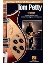 Tom Petty - Tom Petty - Guitar Chord Songbook - 40 songs - Music Book