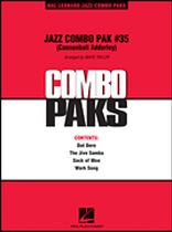 Jazz Combo Pak #35 (Cannonball Adderley) - Music Book