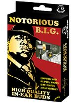 The Notorious B.I.G. - Notorious B.I.G. (Biggy Smalls) - In-Ear Buds - Window Box - Music Book
