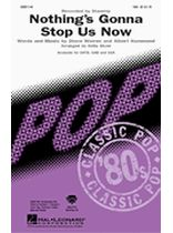 Starship - Nothing's Gonna Stop Us Now - Music Book