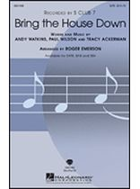 S Club 7 - Bring the House Down - for SATB Choir - Music Book
