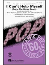 The Four Tops - I Can't Help Myself (Sugar Pie, Honey Bunch) - The 1964 #1 Hit by The Four Tops - for SATB Choir - Music Book