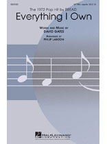 David Gates - Everything I Own - Music Book