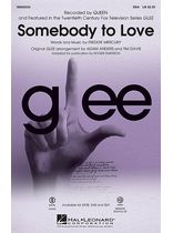 Somebody to Love - from Glee - Music Book