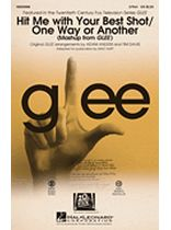 Hit Me With Your Best Shot/one Way Or Another - 2-Part - (Mash-up from Glee) - Music Book