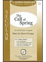 Edwin Fissinger - The Call of Spring - SATB - From Dakota Prairies - Music Book