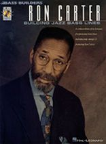 Ron Carter - Ron Carter - Building Jazz Bass Lines - Music Book