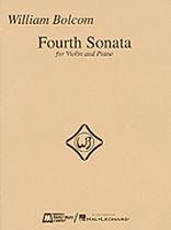 William Bolcom - Fourth Sonata for Violin and Piano - Music Book