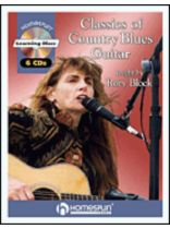 Rory Block - Classics of Country Blues Guitar - Music Book
