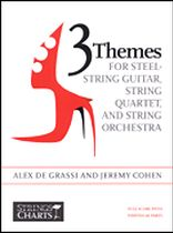 3 Themes for Steel-String Guitar, String Quartet, and String Orchestra - Full Score - Music Book