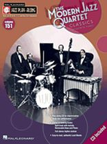 Modern Jazz Quartet - Modern Jazz Quartet Classics - Jazz Play-Along Volume 151 - Music Book