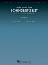 John Williams - Three Pieces From Schindler's List - Music Book
