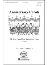 Jesu, Son Most Sweet and Dear - Music Book