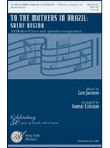 To the Mothers In Brazil - Salve Regina - SATB divisi - Music Book