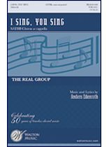 Anders Edenroth - I Sing, You Sing - SATBB a cappella - Music Book