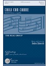 Anders Edenroth - Chili Con Carne - SSATB A Cappella - Music Book