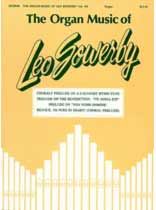Leo Sowerby - The Organ Music of Leo Sowerby - Volume 3 - Music Book