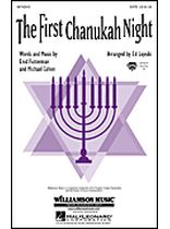 The First Chanukah Night - Music Book