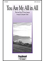 Dennis Jernigan - You Are My All In All - Music Book