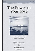 Geoff Bullock - The Power of Your Love - Music Book