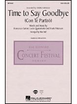 Time To Say Goodbye (Con Te Partiro) - Music Book