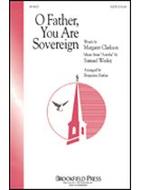 O Father, You Are Sovereign - Music Book