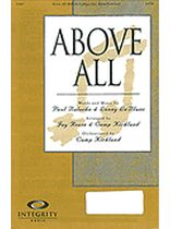 Above All - SATB - Music Book