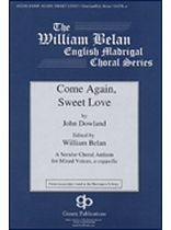 John Dowland - Come Again, Sweet Love - Music Book