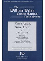 John Dowland - Come Again, Sweet Love - Music Book