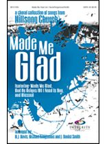 Hillsong - Made Me Glad - A Choral Collection From Hillsong Church - Music Book