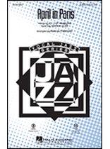 April In Paris - SATB - Music Book
