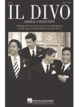 Il Divo - Il Divo Choral Collection - TTBB - Music Book