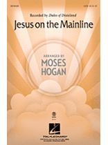 Jesus on the Mainline - Music Book