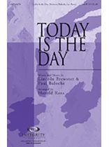 Today Is the Day - SATB - Music Book