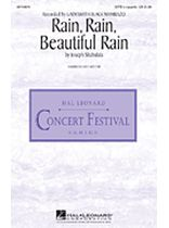 Joseph Shabalala - Rain, Rain, Beautiful Rain - SATB - Music Book